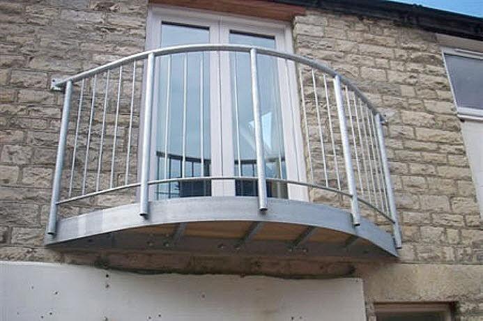 Балкон с металлическими окнами фото. - пвх профили для двере.